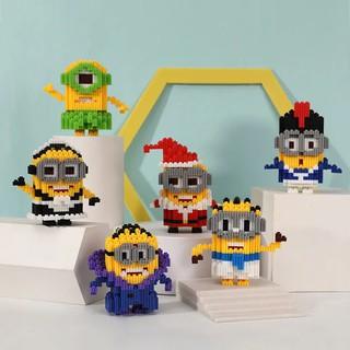 Bộ lắp ráp lego hoạt hình Minions thumbnail