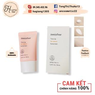 [Mẫu mới 2020]  Kem chống nắng Innisfree Tone Up No Sebum Sunscreen mẫu mới 2020 SPF50 PA+++