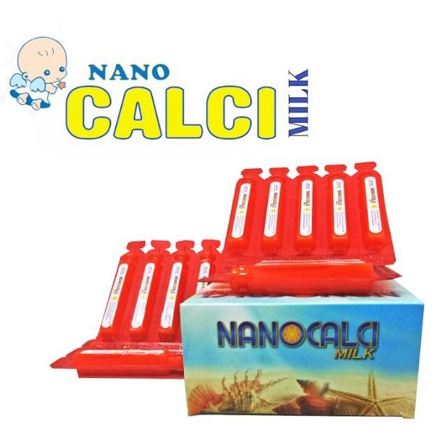 Canxi sữa non - Calci Nano Milk - Canxi Nano