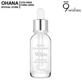 Tinh Chất Dưỡng Trắng Da 9Wishes Miracle White Ampule Serum 25ml thumbnail