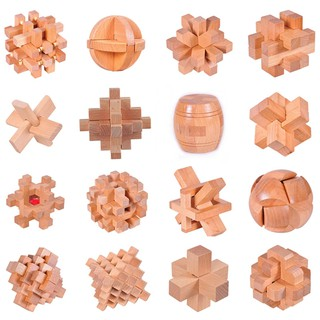Đồ chơi bằng gỗ Khóa Luban–7406