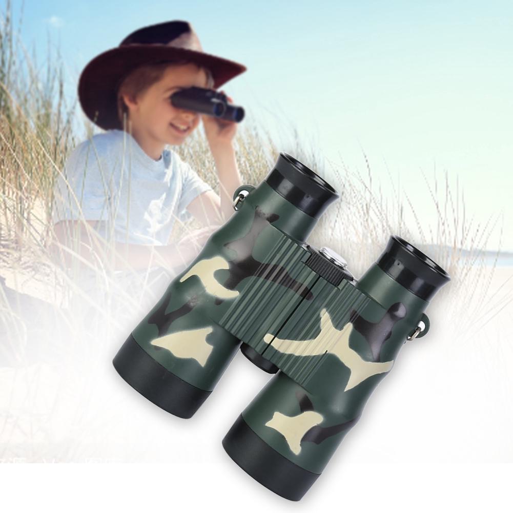 2PCS High Resolution Fashion Gift Non Slip 6X36 Outdoor Camping Kids Toy Binocular