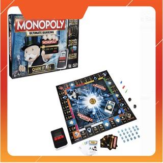 Cờ tỉ phú ngân hàng điện tử chính hãng Haspro – Monopoly MH-B6677/B6677