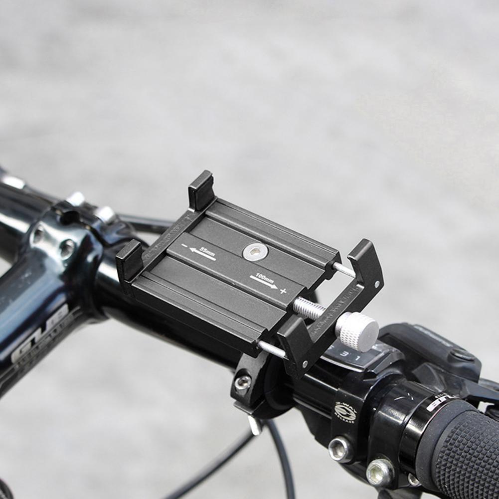 Chân đế giữ điện thoại trên xe đạp , chất liệu nhôm