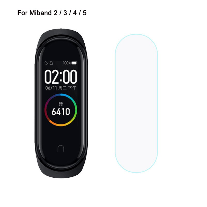 Miếng dán chống trầy bảo vệ màn hình HD cho vòng tay thông minh Xiaomi Miband 4