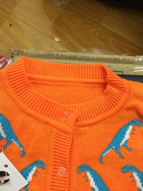 Áo len sơ sinh hàng đẹp cho bé 3-6kg ( màu đỏ)