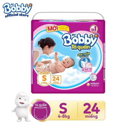 Tã quần siêu thấm Bobby S24 _ 8934755051074 - 3541211 , 1077675028 , 322_1077675028 , 112000 , Ta-quan-sieu-tham-Bobby-S24-_-8934755051074-322_1077675028 , shopee.vn , Tã quần siêu thấm Bobby S24 _ 8934755051074