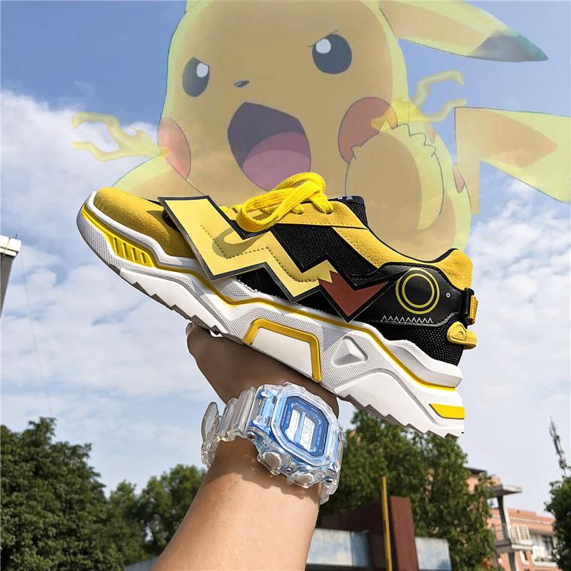 Giày Sneaker Thể Thao Nam G09 Màu Vàng Phong Cách