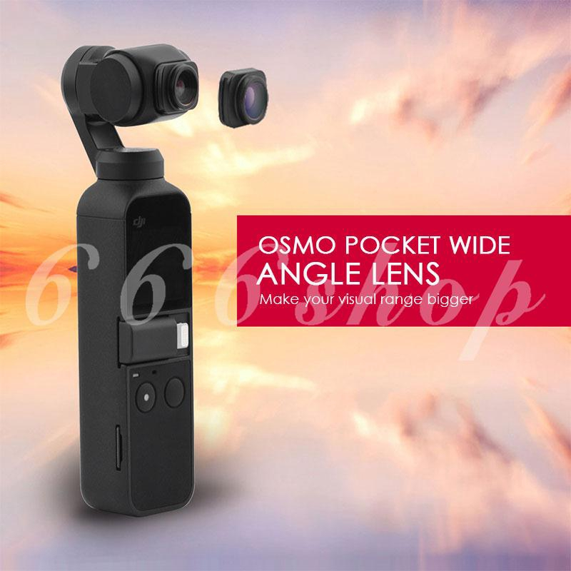 ★★★ OSMO POCKET Durable Convenient Protect Wide Angle Lens Camera Accessories Aluminum Alloy