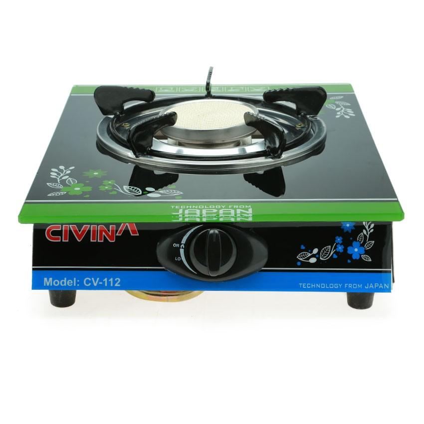 [HOME30K7 GIẢM 30K]Bếp ga đơn hồng ngoại cao cấp Civina CV-112 CHN