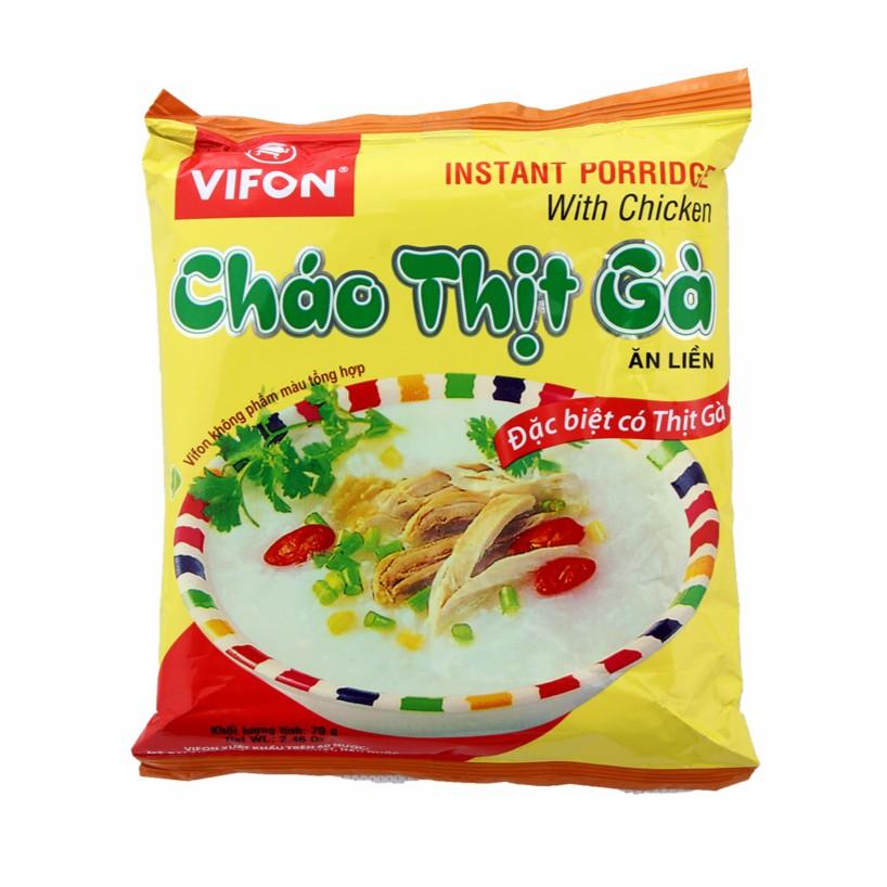 Cháo thịt gà ăn liền Vifon Instant Porridge 70g - 3044214 , 669107751 , 322_669107751 , 5000 , Chao-thit-ga-an-lien-Vifon-Instant-Porridge-70g-322_669107751 , shopee.vn , Cháo thịt gà ăn liền Vifon Instant Porridge 70g