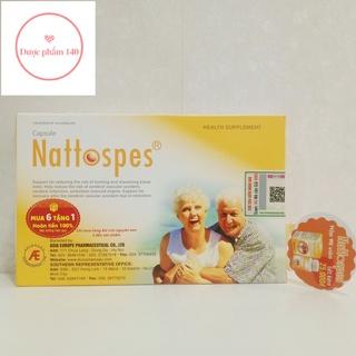 Nattospes – Viên uống hỗ trợ đột quỵ, tai biến mạch máu não.