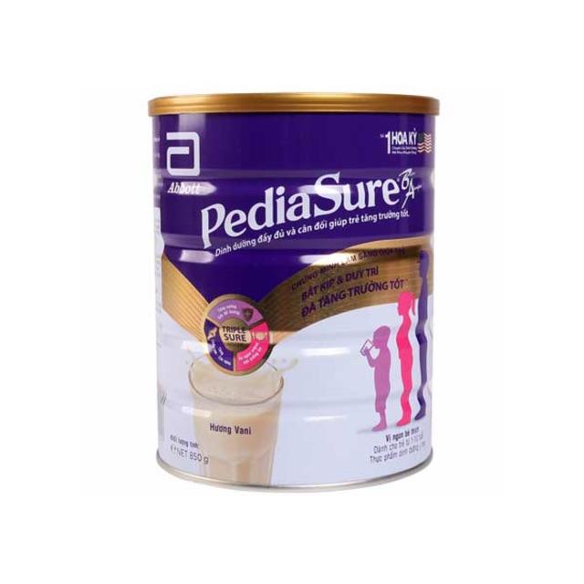 sữa pediasure 850g  tăng cường dưỡng chất cho bé. để bé phát triển toàn diện
