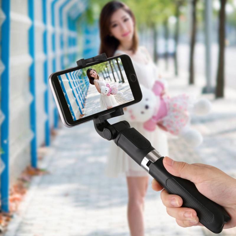 Gậy Chụp Ảnh Selfie Đa Năng Kết Nối Bluetooth Yajief