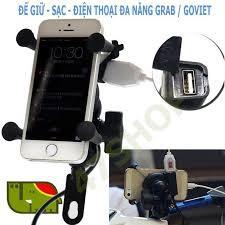 (Hàng Tốt – Giá Cao) Giá đỡ kẹp điện thoại có dây sạc.