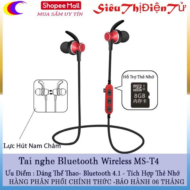 TAI NGHE BLUETOOTH Wireless MS-T4 Hỗ Trợ Cắm Thẻ Nhớ TF - 2942962 , 1281360306 , 322_1281360306 , 220000 , TAI-NGHE-BLUETOOTH-Wireless-MS-T4-Ho-Tro-Cam-The-Nho-TF-322_1281360306 , shopee.vn , TAI NGHE BLUETOOTH Wireless MS-T4 Hỗ Trợ Cắm Thẻ Nhớ TF