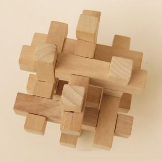 Khối lắp ráp bằng gỗ phát triển trí tuệ