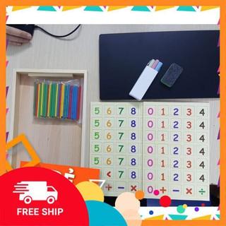 Hotsale Bảng gỗ toán học thông minh phát triển trí tuệ cho bé [ SP039331] hỗ trợ tối đa