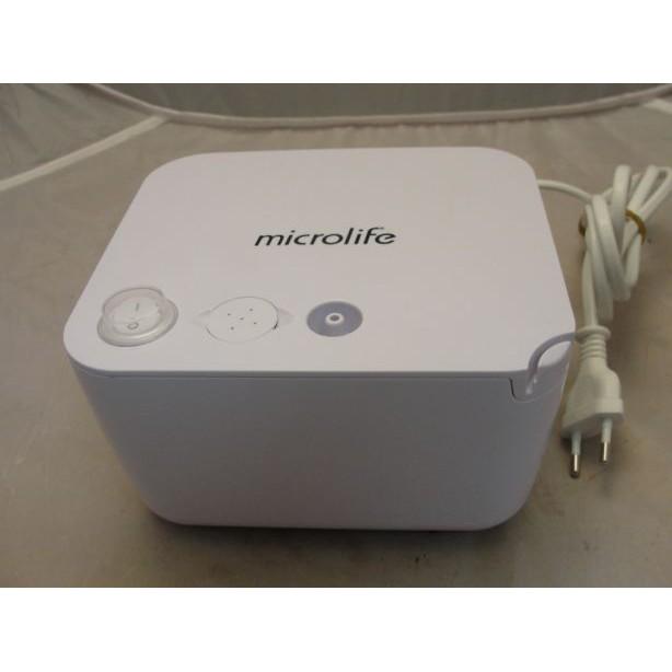 Máy xông mũi họng Microlife NEB 200 Thụy Sĩ + 10 chai nước muối sinh lí Nacl