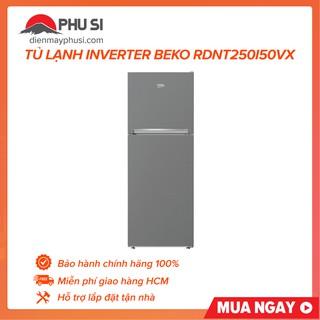 Tủ Lạnh Inverter Beko RDNT250I50VX (221Lít)