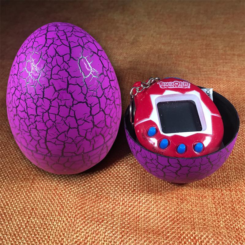 Dinosaur Egg Tamagotchi Toy 168 Pets Electronic Retro Funny Kids Toys Digital Electronic E-Pet Christmas Gift