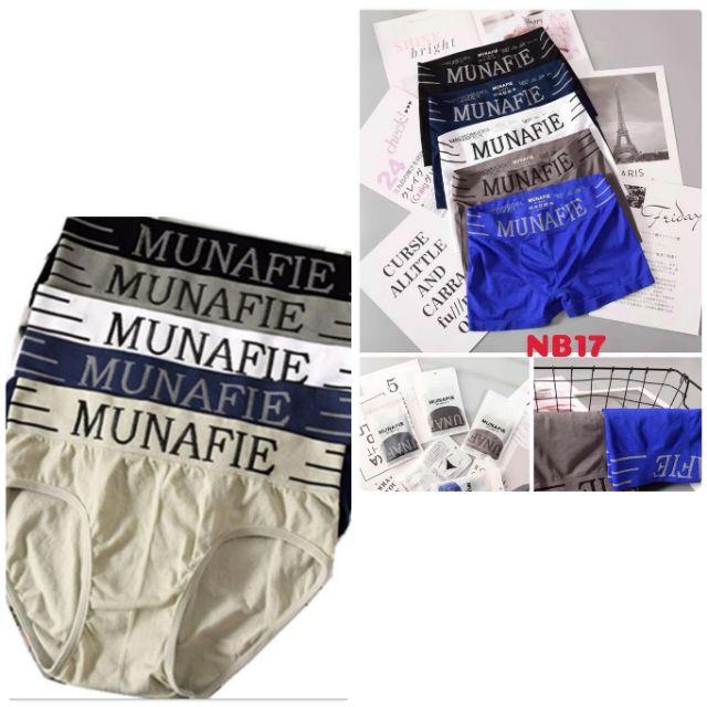 Quần sịp nam MUNAFIE được chọn màu(túi zip, ảnh chụp thật)