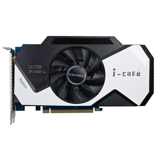 Card màn hình ColorFire Radeon HD 7750 i-Cafe (HD7750-1GD5 Green)