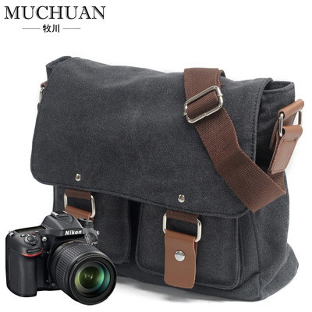 Túi máy ảnh thời trang MuChuan Canvas 2101