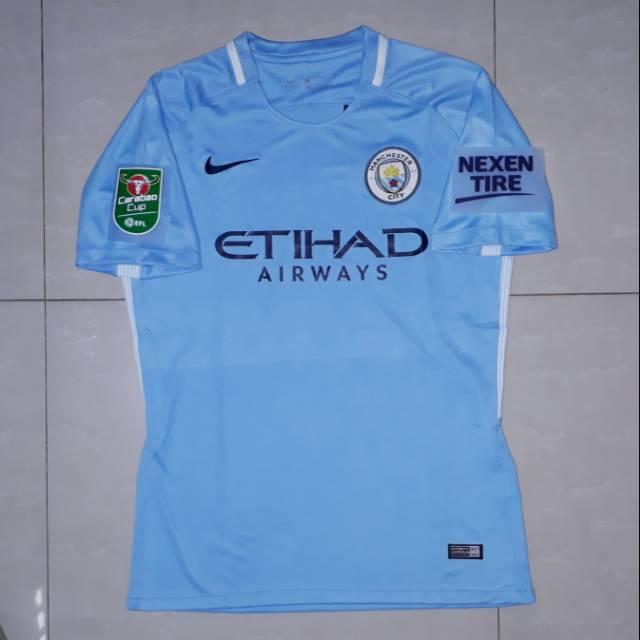 Áo Thun Jersey Manchester City Home 17 / 18