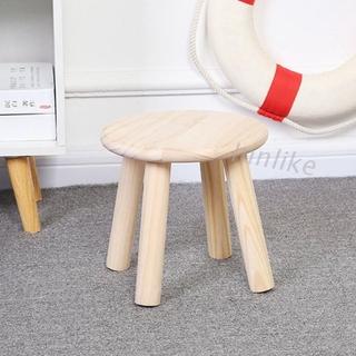 Ghế ngồi cho bé bằng gỗ trơn chất lượng