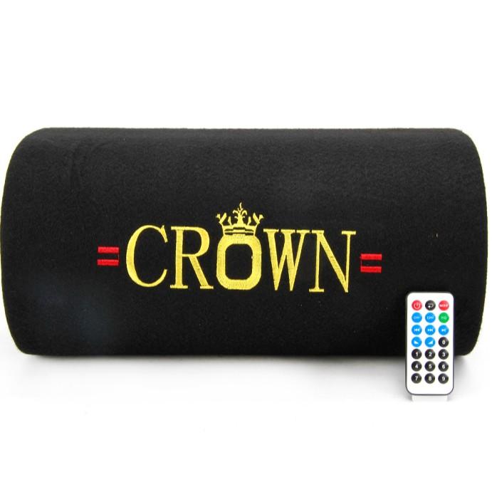 Loa Crown 6 đế phát nhạc qua USB, thẻ nhớ giá rẻ - Bảo hành 6 tháng