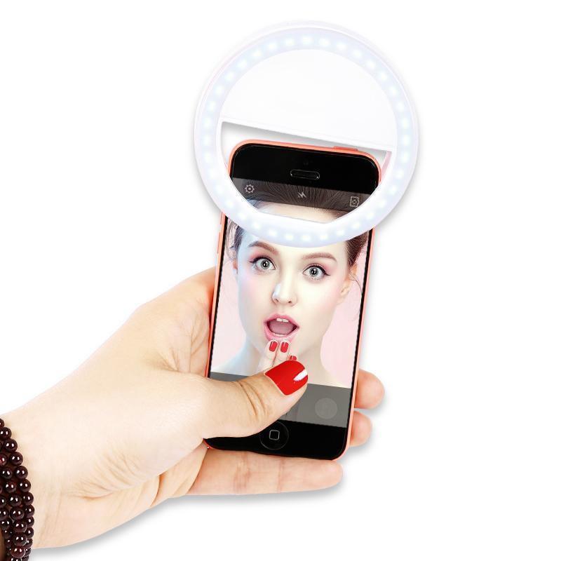Đèn Selfie Ring Light XJ-01 Trợ sáng 3 chế độ