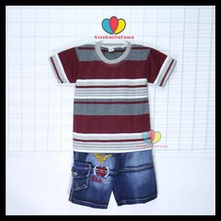 Quần Short Jeans Cho Bé Trai Từ 5-6 Tuổi