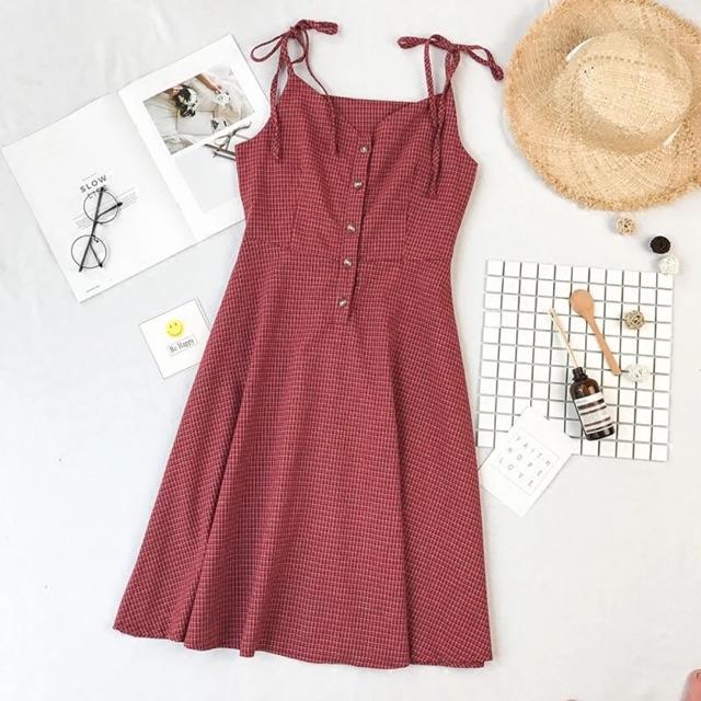 Váy 2 dây Quảng Châu mã 6078