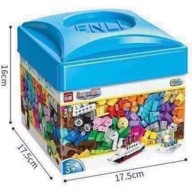 Bộ Lego 460 miếng hộp vuông