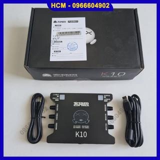Sound card XOX K10 thu âm livestream cực chuẩn thumbnail