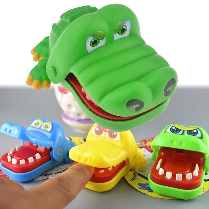 Crocodile Mouth Dentist Bite Finger Game Family Toy Gift