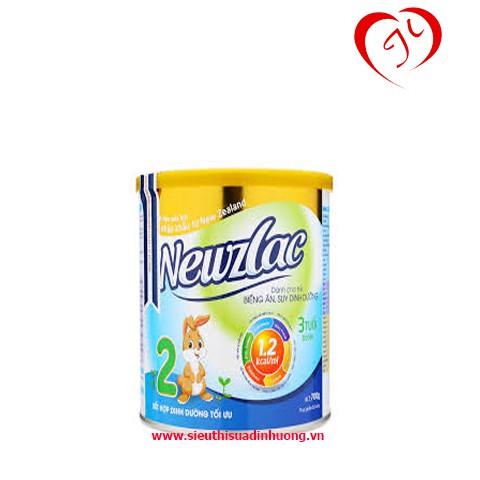 Com bo 2 hộp Sữa Newzlac số 1 hộp 700g