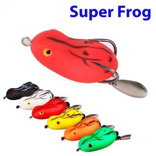 Mồi giả câu cá lóc, Nhái hơi câu cá lóc Super Frog siêu nhậy AD-8