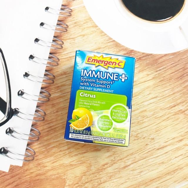 BỔ SUNG VITAMIN DẠNG BỘT EMERGEN-C IMMUNE PLUS vitamin D - 2647446 , 625458877 , 322_625458877 , 140000 , BO-SUNG-VITAMIN-DANG-BOT-EMERGEN-C-IMMUNE-PLUS-vitamin-D-322_625458877 , shopee.vn , BỔ SUNG VITAMIN DẠNG BỘT EMERGEN-C IMMUNE PLUS vitamin D