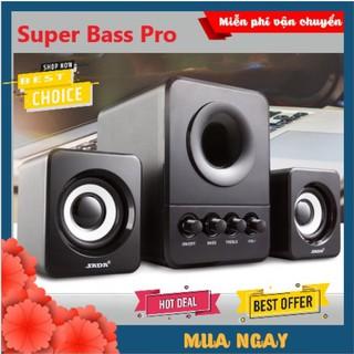 Loa Vi Tính Máy Tính SADA 203 Pro 2021 Cao Cấp, Âm Thanh Super Bass Dùng Cho Cả PC, Laptop Nghe Nhạc Siêu Hay