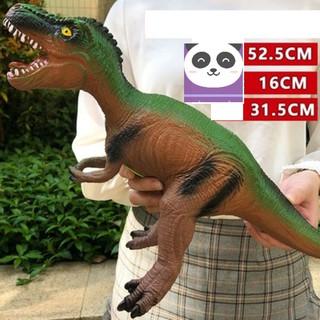 Khủng long bạo chúa Tyrannousaurus bằng nhựa mềm nhồi bông có nhạc