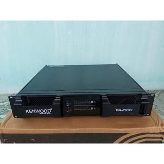 cục đẩy kenwood fa500 sử dụng 32 đèn công suất 850w 1kênh đẹp sang thumbnail