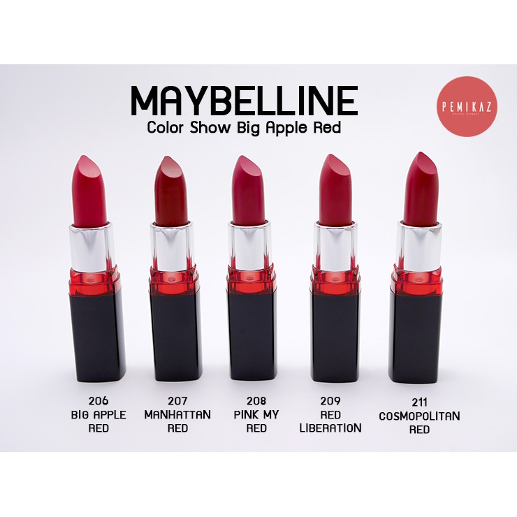 Son màu lâu phai Maybelline Color Show Big Apple Red Creamy Matte M210 Dare To Be Red 3.9g - 3533204 , 1274807264 , 322_1274807264 , 95000 , Son-mau-lau-phai-Maybelline-Color-Show-Big-Apple-Red-Creamy-Matte-M210-Dare-To-Be-Red-3.9g-322_1274807264 , shopee.vn , Son màu lâu phai Maybelline Color Show Big Apple Red Creamy Matte M210 Dare To Be