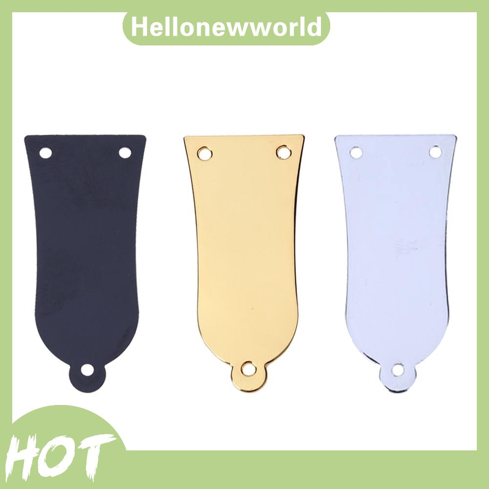 3 Holes Metal Bell Style Truss Rod Cover for Electrical Guitar Bass Accessories with Screws