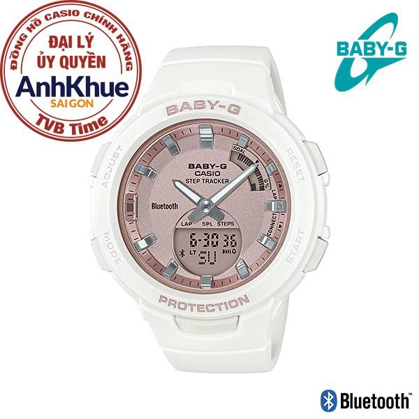 Đồng hồ nữ dây nhựa Casio Baby-G chính hãng Anh Khuê BSA-B100MF-7ADR
