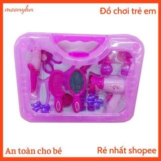 Đồ chơi trẻ em bộ trang điểm bằng nhựa màu hồng dễ thương cho bé gái,đồ chơi trang điểm màu hồng Thành Đô thumbnail