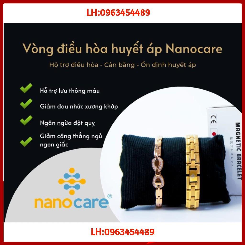 [ CAM KẾT HÀNG CHUẨN ]Vòng điều hòa huyết áp NANOCARE nhật bản