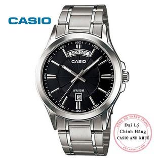 [Mã FARSBR243 giảm 15% đơn 249K] Đồng hồ nam Casio MTP-1381D-1AVDF dây kim loại thumbnail