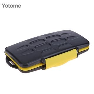 YO Multi-grid Waterproof Storage Saving Deposit Card Box Memory Cards Case